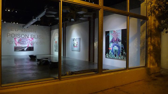 Ted Vasin Poison Bliss Opening at 101/exhibit